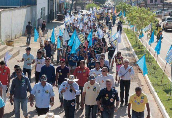 Agenda em Machadinho, Vale do Anari, Theobroma e Jorge Teixeira (segunda-feira, 17 de setembro)