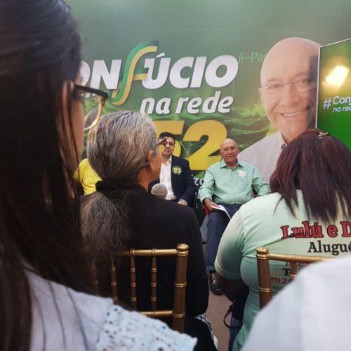 Agenda em Ariquemes e Porto Velho (segunda-feira, 24 de setembro)