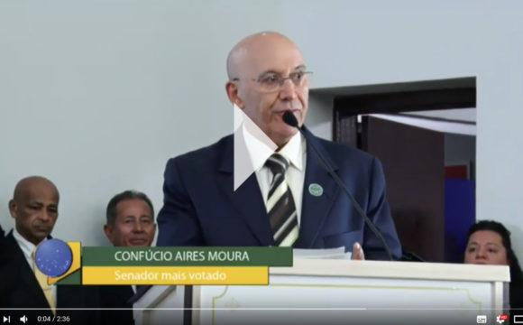 Senador eleito, Confúcio Moura, diz que irá ajudar a educação