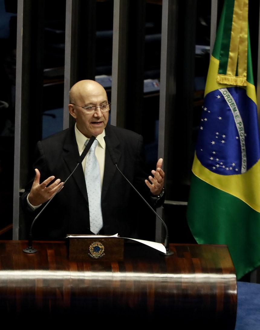 Senador Confúcio defende a manutenção do Código Florestal Brasileiro e o pagamento de serviços ambientais