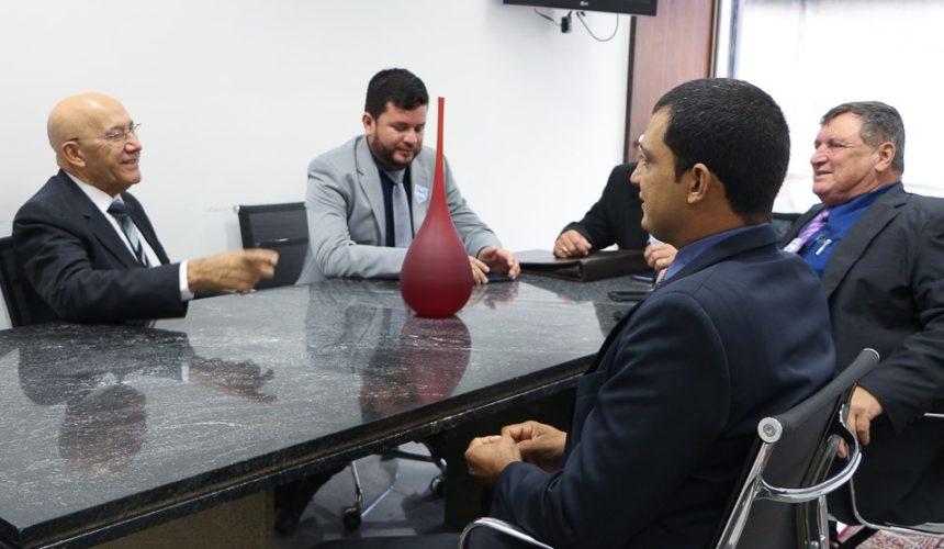 Mensagem do prefeito de Pimenteiras do Oeste, Olvindo Luiz Dondé (Vino)