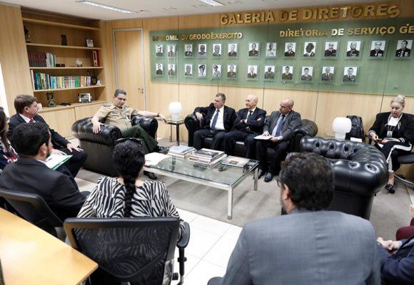 Sistema de georreferência do Exército Brasileiro ajudará no mapeamento dos assentamentos rurais