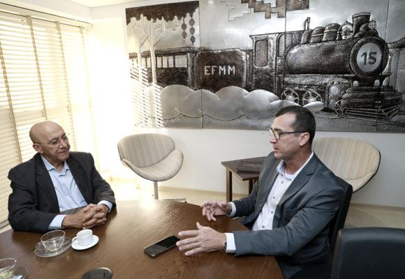 Confúcio Moura e coronel Pachá debatem segurança pública para Rondônia