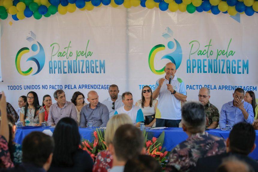 Projeto 'pacto pela aprendizagem' é lançado em Itapuã do Oeste