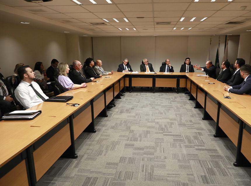 Bancada federal reúne com a direção da Petrobras para debater a implantação de gasoduto até Porto Velho