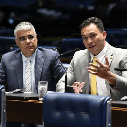 Senadores Styvenson Valentim e Eduardo Girão elogiam o pronunciamento do senador Confúcio