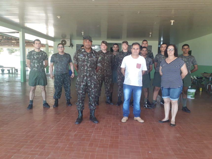 Escolas de Itapuã do Oeste são reformadas pelo Exército