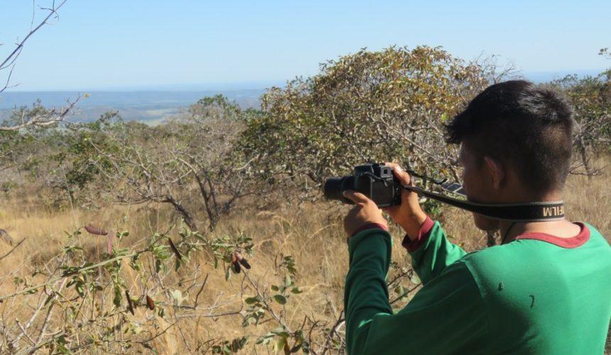 Elisaldo Oro Nao – estudante de agroecologia do Instituto  Abaitará.