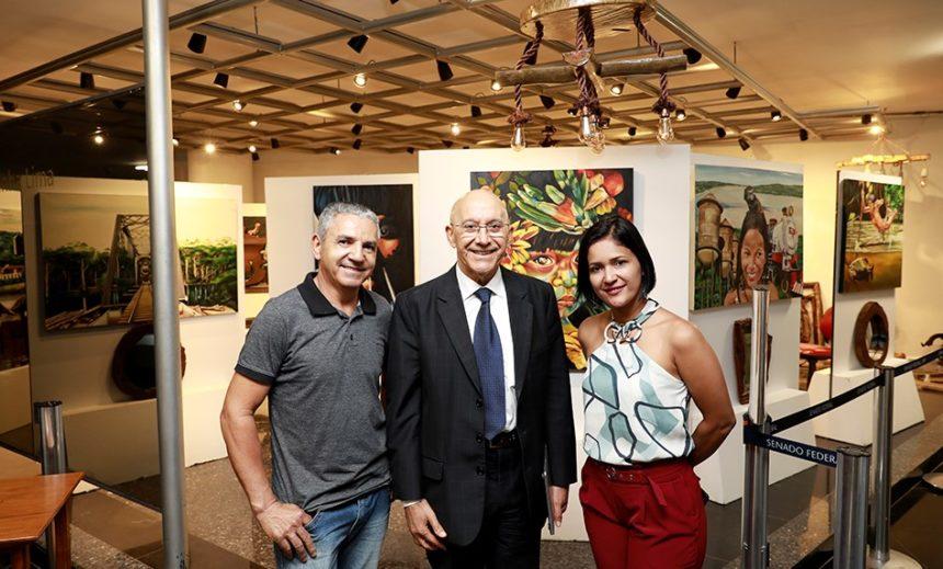 """Senado Federal recebe a exposição """"Arte e Cultura de Rondônia"""""""