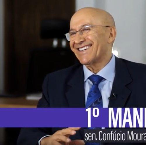 Primeiro Mandato | Confúcio Moura se apresenta como senador