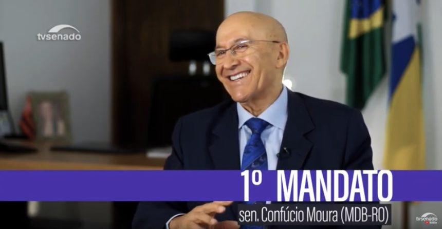 Primeiro Mandato   Confúcio Moura se apresenta como senador