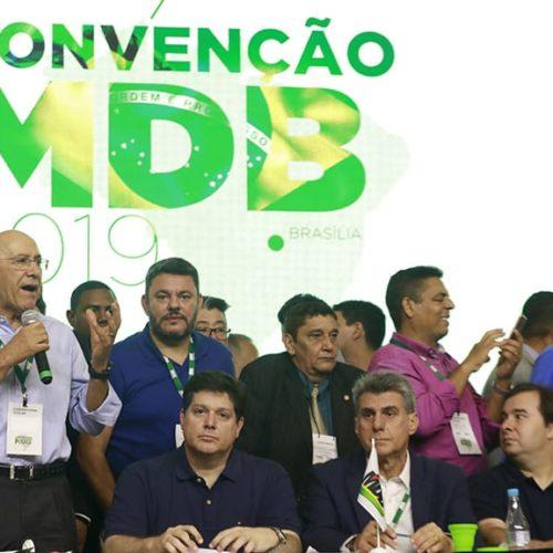 Convenção Nacional do MDB elege nova direção