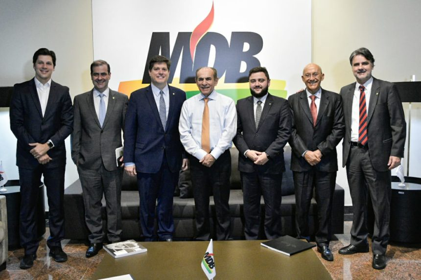 Executiva Nacional do MDB se reúne em Brasília