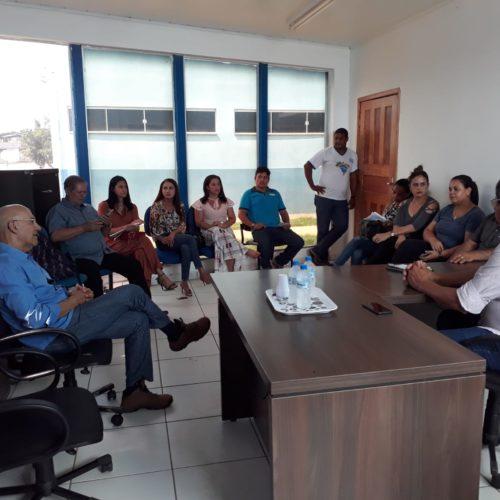 Confúcio Moura participa de reuniões com lideranças políticas e comunidade em Alto Paraíso e Rio Crespo