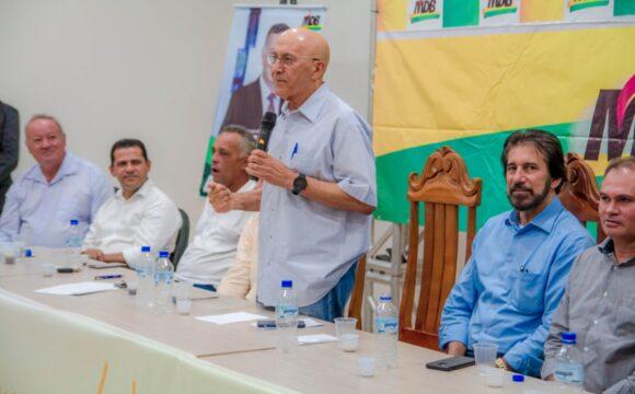 Autoridades dos quatro cantos de Rondônia engrandecem 1º Encontro Regional MDB