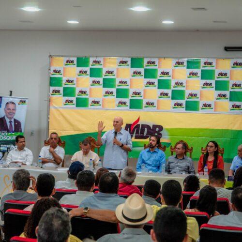 Confúcio Moura mobiliza lideranças políticas para as eleições de 2020