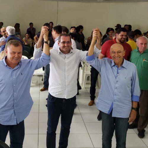 Confúcio Moura declara apoio a pré-candidatos e anuncia emenda de R$ 3 milhões para construção de escola