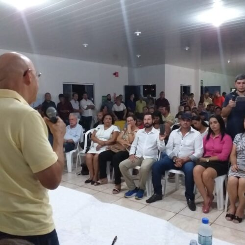 Confúcio Moura apoia Aldo Julio como pré-candidato do MDB à prefeitura de Rolim de Moura