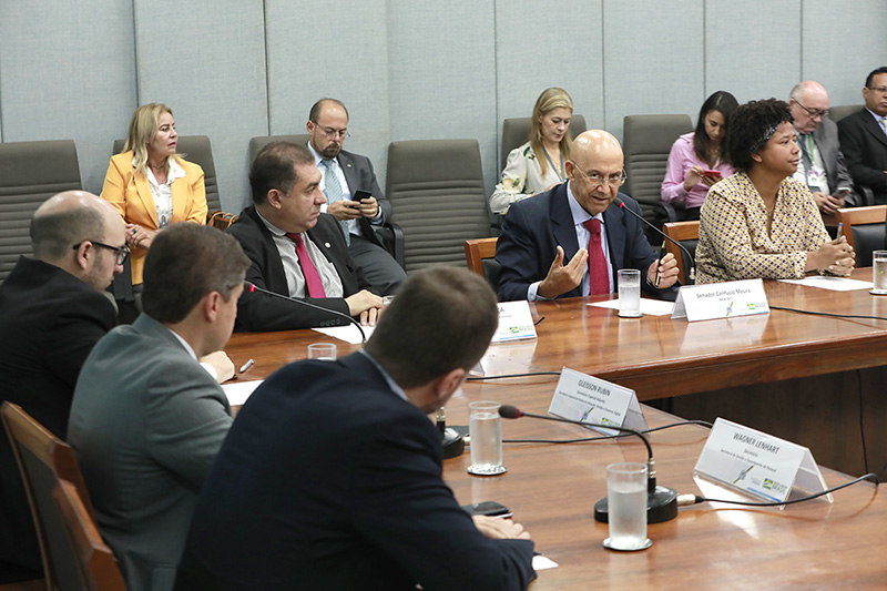 Bancada federal de Rondônia pressiona Ministério da Economia para agilizar transposição