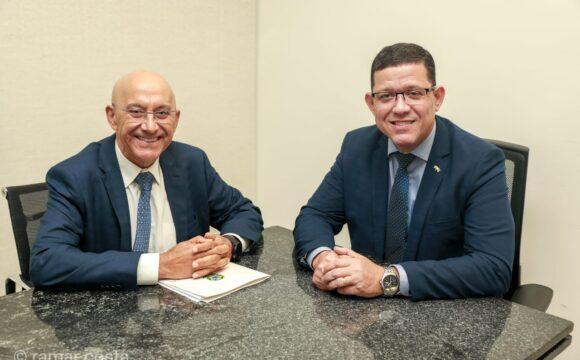 Implantação de museu em Porto Velho e destinação de emendas para Rondônia foram temas de reunião entre Senador Confúcio Moura e governador Marcos Rocha