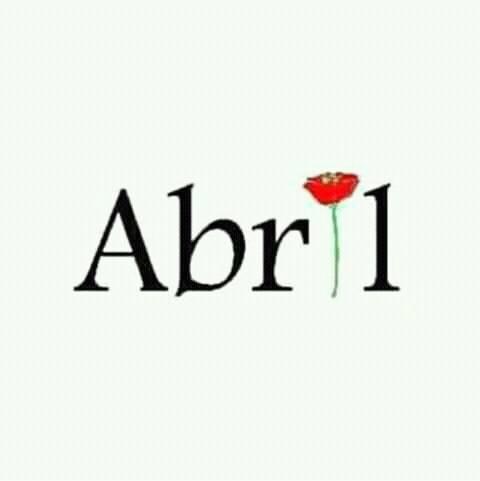 Mais um abril que se vai