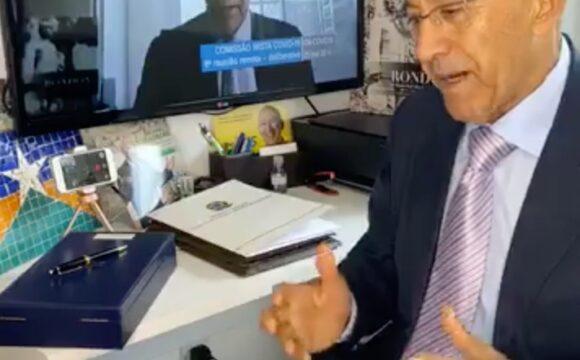 Audiência pública que debateu a crise fiscalcausada pela pandemiasurpreendeu, disse Confúcio Moura