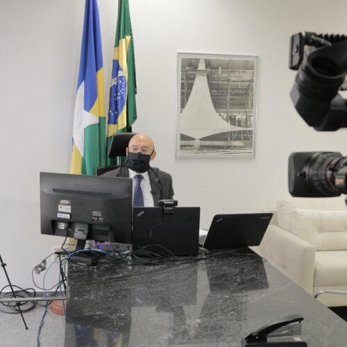 Comissão da covid-19 recebe quatro governadores nesta quinta-feira