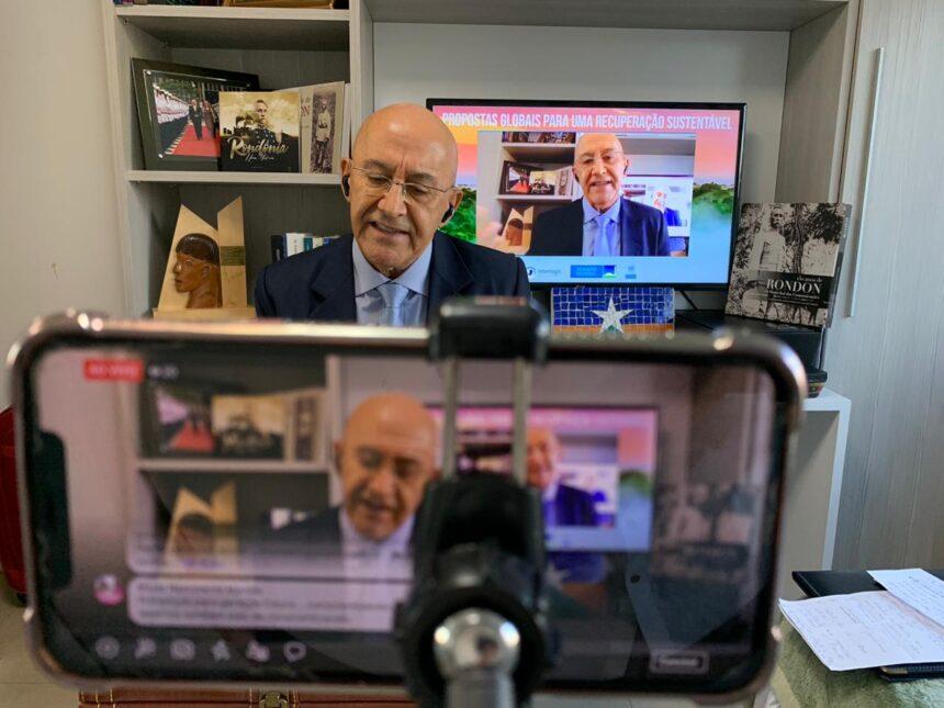 MEIO AMBIENTE – Em Webinar internacional, Confúcio Moura fala sobre os caminhos possíveis para a recuperação sustentável do Brasil