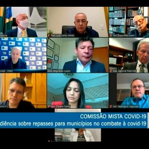 Municípios reconhecem empenho do Congresso no combate à pandemia, diz prefeito