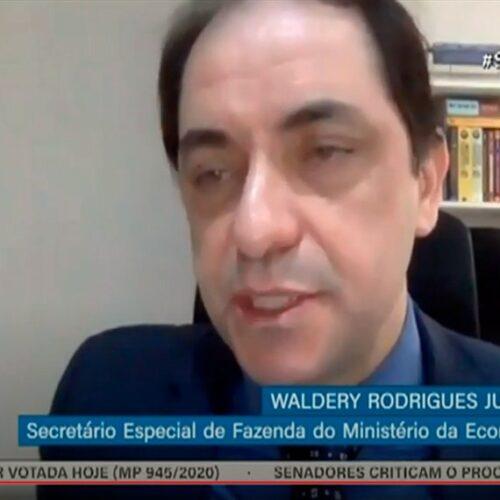 'Chance zero de aumento da carga tributária', garante Waldery Rodrigues