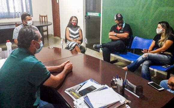 Novo Horizonte recebe equipe do senador Confúcio Moura para tratar de ações direcionadas ao município