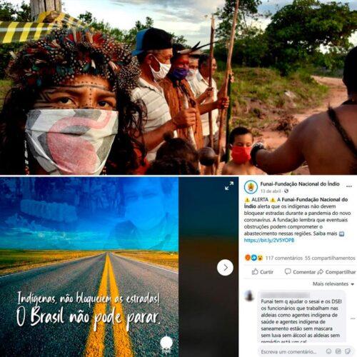 Atingidos pela pandemia, indígenas contam seus mortos e acusam governo de omissão