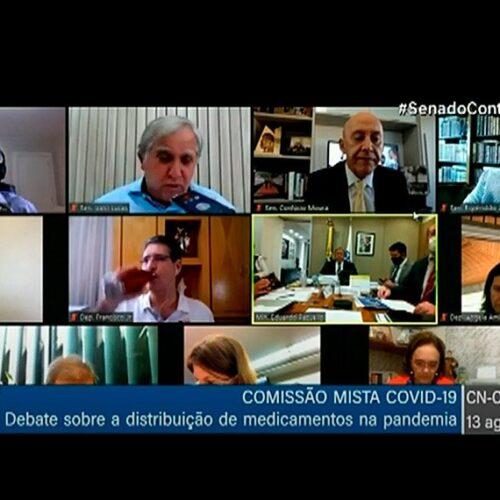 Covid-19: comissão mista faz reunião na terça para discutir dados atualizados