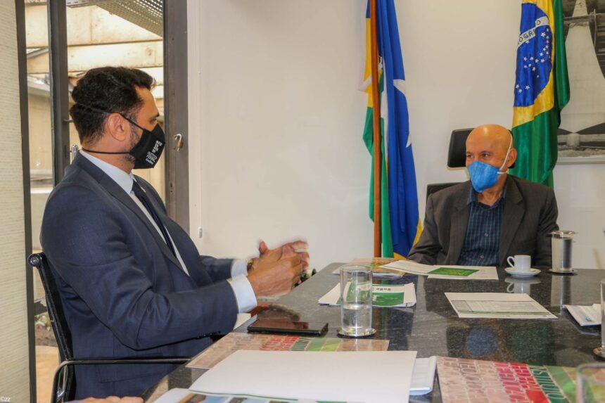 Instituto Federal de Rondônia busca apoio do senador Confúcio para ampliar projetos de qualificação profissional