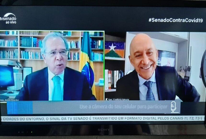 Confúcio elogia audiência pública com o ministro Guedes e diz que não ficaram perguntas sem respostas