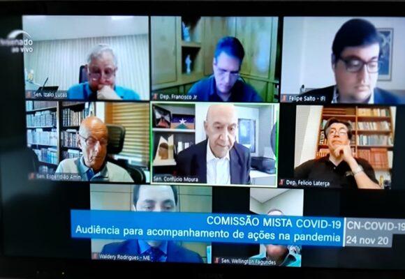 Audiência com Ministério da Economia apontou para a necessidade de mudança na estrutura do Governo, diz Confúcio Moura