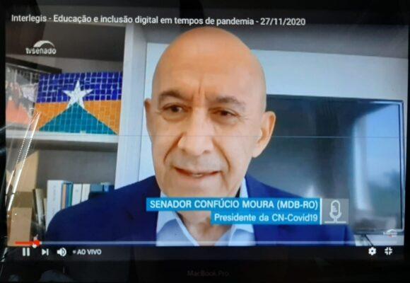 Confúcio Moura diz que é necessário refundar o modelo educacional brasileiro