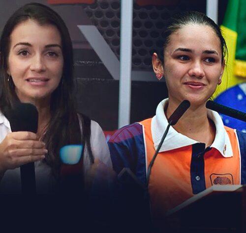 Nayara e Rafaela (eleitas vereadoras)