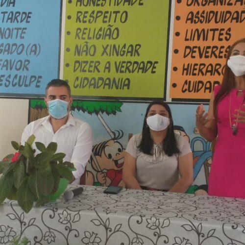 Educação de Ariquemes é beneficiada com R$ 1,5 milhão viabilizado pelo senador Confúcio Moura