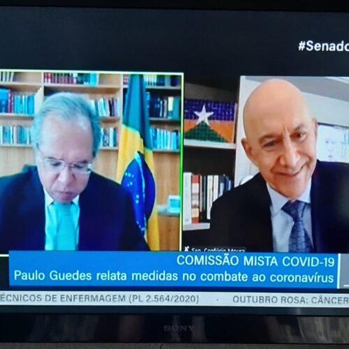Paulo Guedes deve apresentar balanço ao Congresso Nacional sobre a pandemia