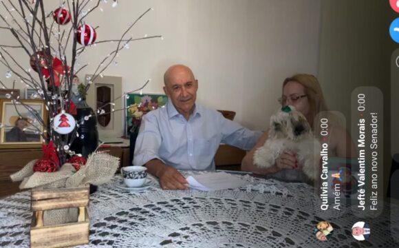 """Em """"live"""" de fim de ano, Confúcio Moura faz balanço do mandato e afirma que está colocando em ação a sua experiência de vida pública"""